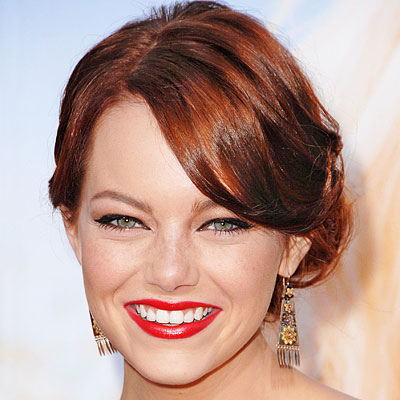 emma stone red hair. For those of you who have seen